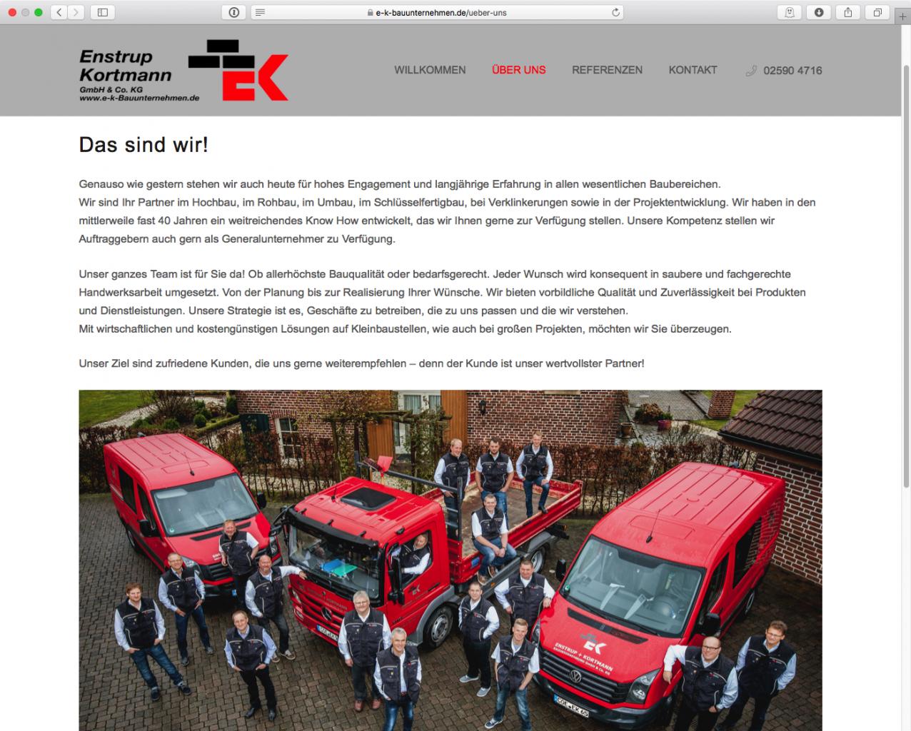 E-K-Bauunternehmen - Team