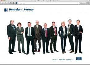 Henseler & Partner - Startseite (responsive)