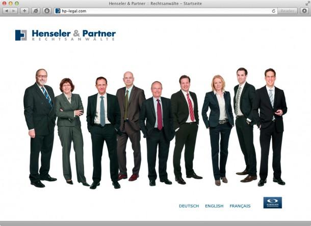 Henseler & Partner - Startseite