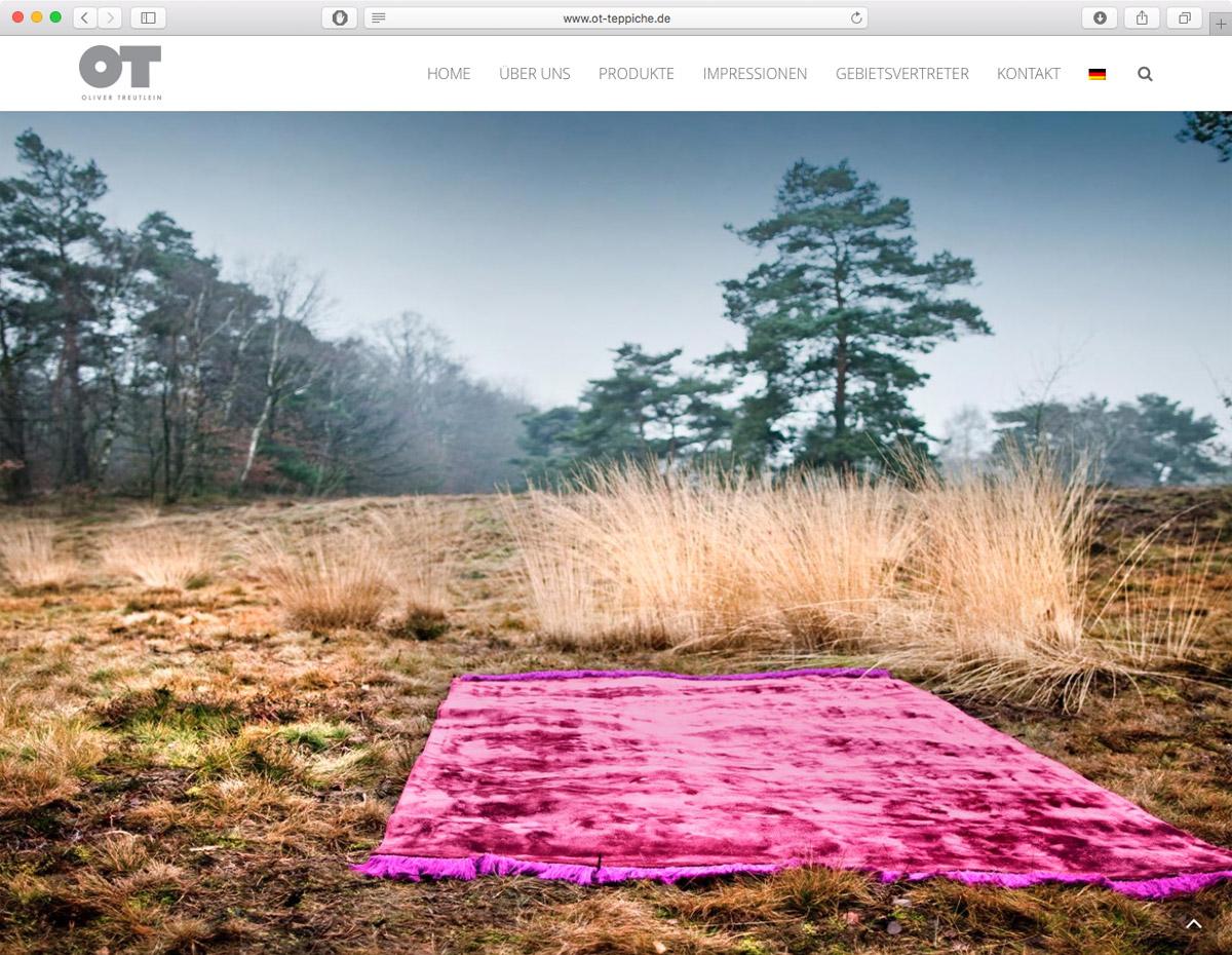 Oliver Treutlein Teppiche - Produkte