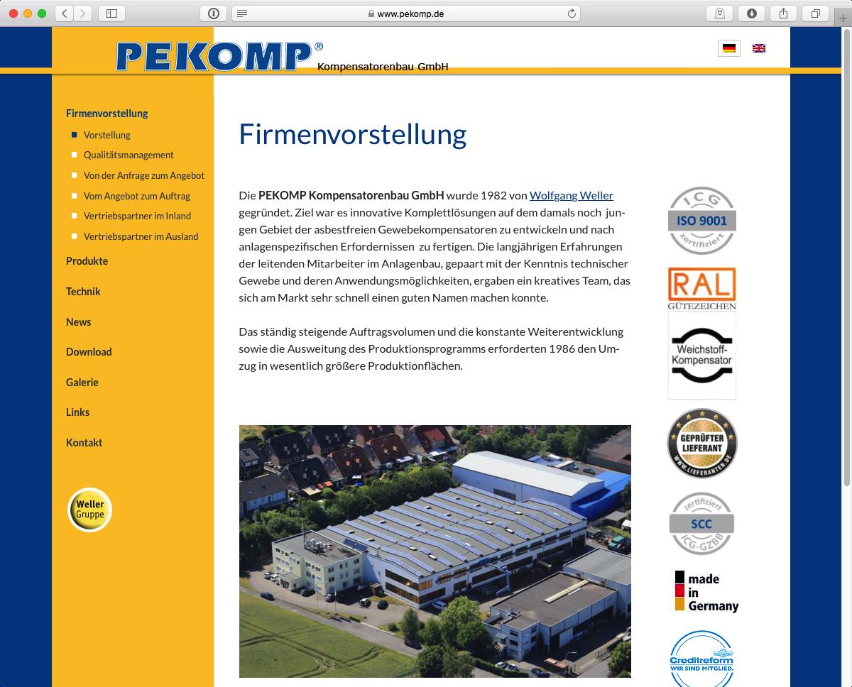 PEKOMP GmbH - Home