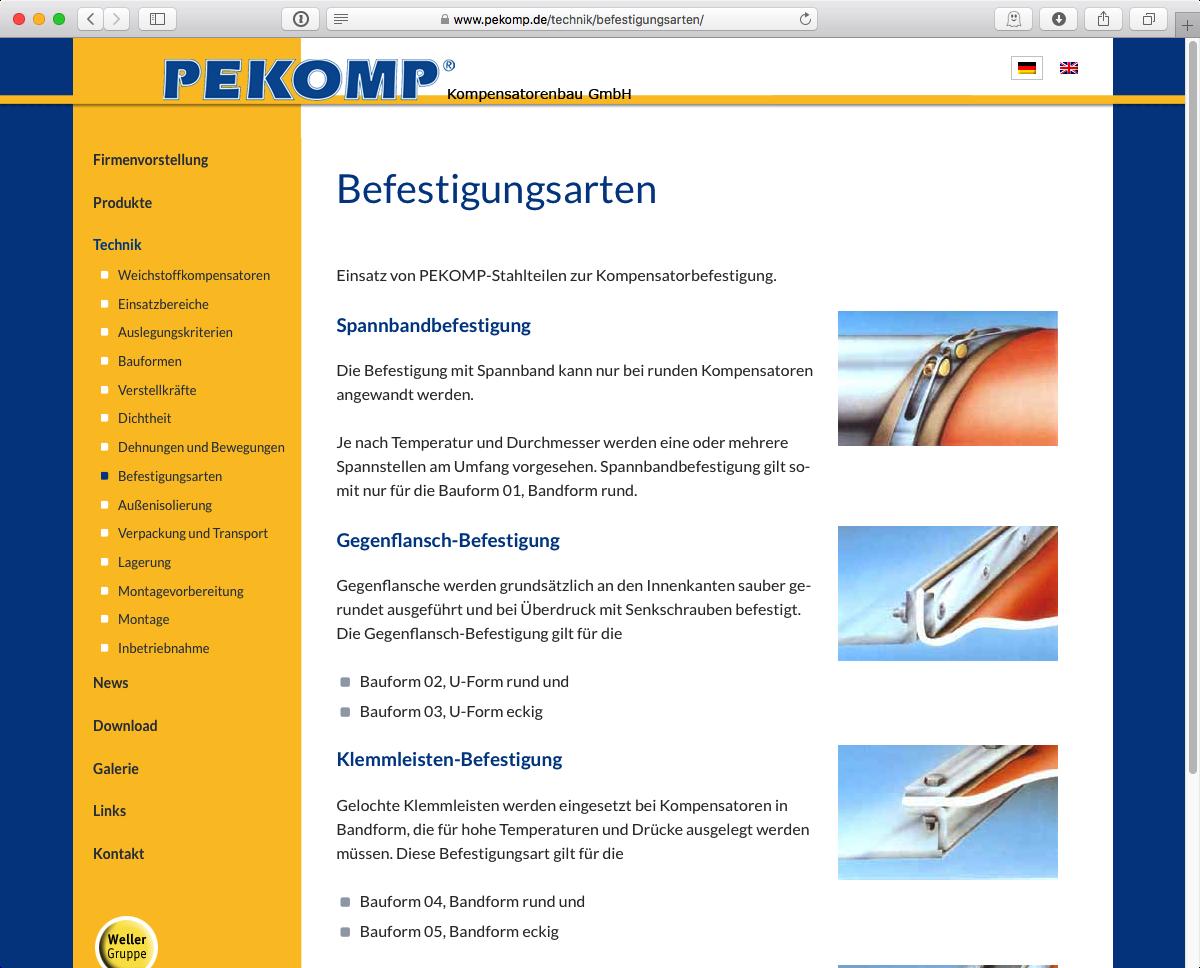 PEKOMP GmbH - Produkte