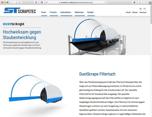 Scrapetec Trading GmbH - Produkte DE