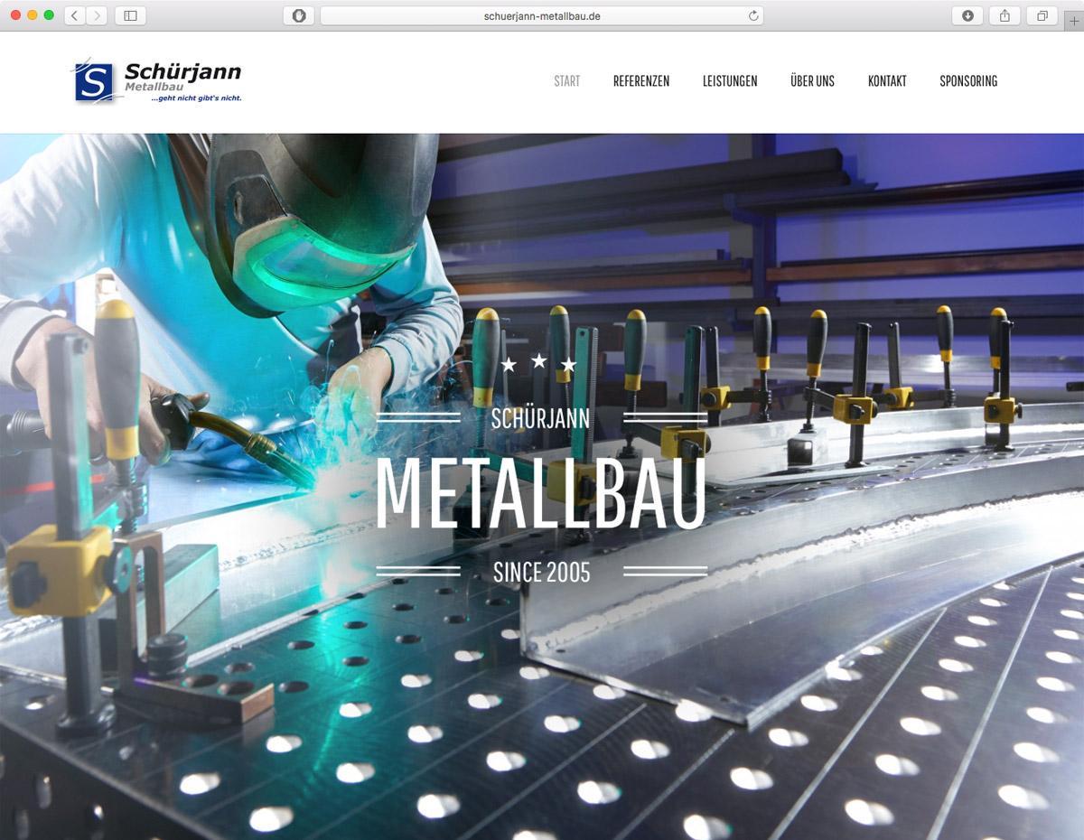 Schürjann Metallbau - Homepage