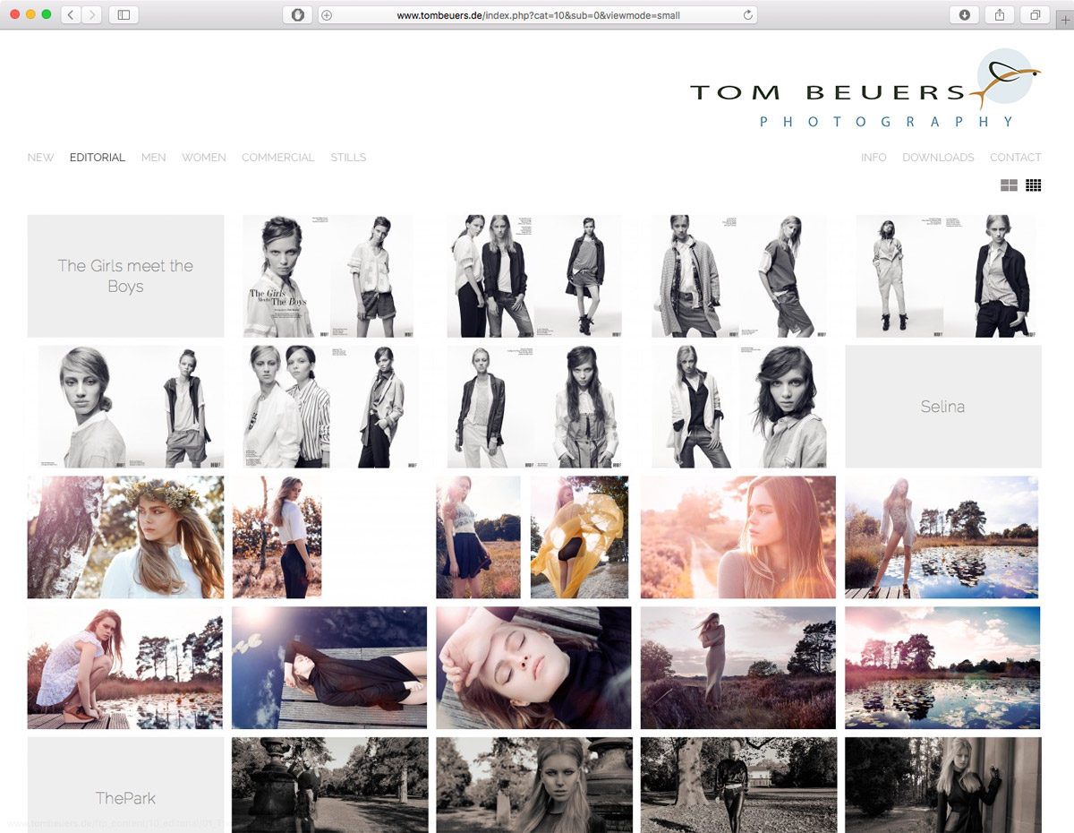 Tom Beuers - Editorial (Grid)