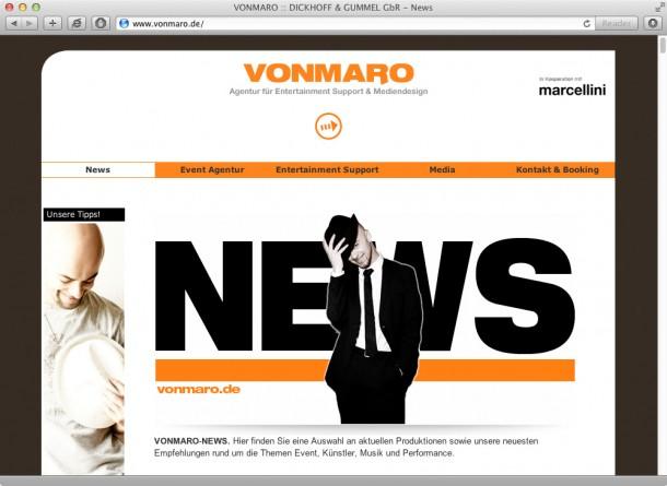 Agentur Vonmaro - News