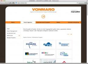 Agentur Vonmaro - Referenzen